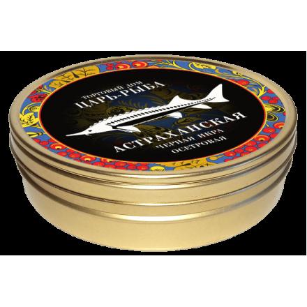 Черная икра осетровая забойная непастеризованная Астраханская 500г, жб, Царь-рыба