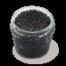 Черная икра осетровая забойная непастеризованная 100г, стекло, Горкунов